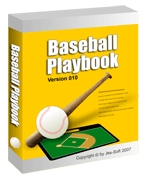 Cover: baseball playbook 010