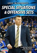 Cover: greg mcdermott: special situations & offensive sets