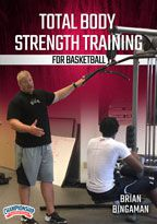 Cover: total body strength training for basketball