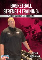 Cover: basketball strength training: progressions & regressions