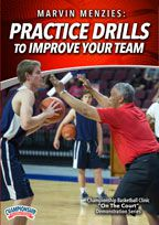 Cover: marvin menzies: practice drills to improve your team