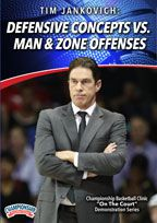 Cover: tim jankovich: defensive concepts vs. man and zone offenses