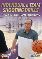 Cover: individual & team shooting drills that simulate game situations
