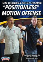 "Cover: todd lorensen: ""positionless"" motion offense"