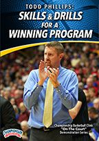 Cover: todd phillips: skills & drills for a winning program