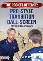 Cover: the rocket offense: pro-style transition ball-screen sets & breakdowns
