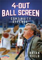Cover: 4-out ball screen continuity offense