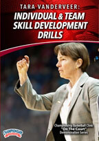 Cover: tara vanderveer: individual & team skill development drills