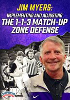 Cover: implementing and adjusting the 1-1-3 match-up zone defense