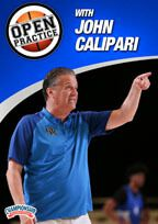 Cover: open practice with john calipari