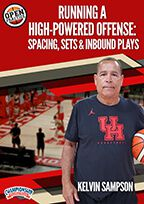 Cover: running a high-powered offense: spacing, sets & inbound plays