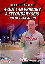 Cover: 4-out 1-in primary & secondary sets out of transition