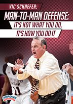 Cover: man-to-man defense: it's not what you do, it's how you do it