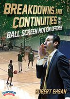 Cover: breakdowns and continuities for the ball screen motion offense