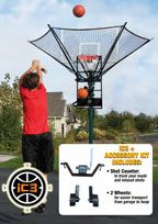 Cover: ic3 basketball shot trainer with accessory kit