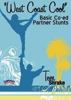 "Cover: ""west coast cool"" basic co-ed partner stunts"