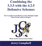 Cover: combining the 3-3-5 with the 4-2-5 defensive schemes