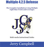 Cover: installation of the 4-2-5 defense