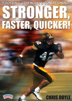 Cover: football strength & conditioning: stronger, faster, quicker!