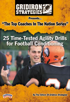 Cover: 25 time-tested agility drills for football conditioning