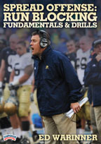 Cover: spread offense: run blocking fundamentals & drills