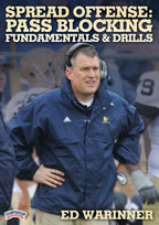 Cover: spread offense: pass blocking fundamentals & drills