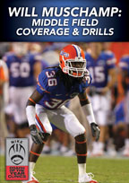 Cover: will muschamp: middle field coverage & drills