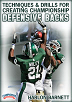 Cover: techniques & drills for creating championship defensive backs