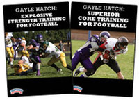 Cover: gayle hatch's strength training for football 2-pack