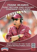 Cover: frank beamer: punt return and kickoff coverage packages