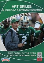 Cover: art briles:shield punt & offensive schemes