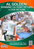 Cover: al golden:  winning the punt return and kick return