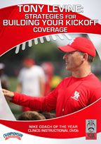 Cover: tony levine: strategies for building your kickoff coverage
