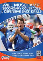 Cover: will muschamp: secondary coverages & defensive back drills