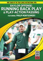 Cover: baylor offense: running back play & play-action passing