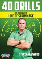 Cover: 40 drills for winning the line of scrimmage