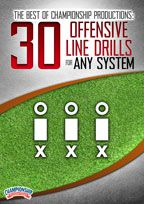 Cover: the best of championship productions: 30 offensive line drills for any system