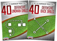 Cover: the best of championship productions: defense drills 2-pack