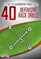 Cover: the best of championship productions: 40 defensive back drills
