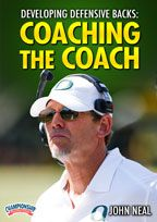 Cover: developing defensive backs: coaching the coach