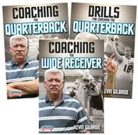 Cover: kevin gilbride's drills and skills for the passing game 3-pack