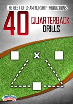 Cover: the best of championship productions: 40 quarterback drills