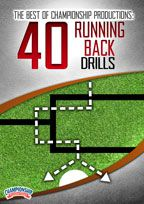 Cover: the best of championship productions: 40 running back drills
