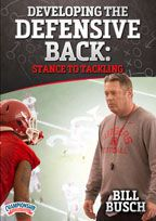 Cover: developing the defensive back: stance to tackling