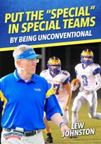"Cover: put the ""special"" in special teams by being unconventional"