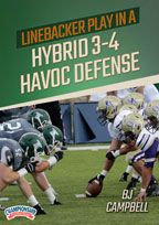 Cover: linebacker play in a hybrid 3-4 havoc defense