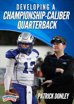 Cover: developing a championship-caliber quarterback