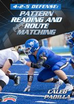 Cover: 4-2-5 defense: pattern reading and route matching