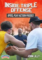 Cover: inside triple offense: rpos, play action passes