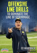 Cover: offensive line drills to dominate the line of scrimmage